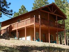 Hawk Ridge Cabin-Luxurious Secluded Cabin with Hot Tub. Low Introductory Rates!   Vacation Rental in Florissant from @homeaway! #vacation #rental #travel #homeaway