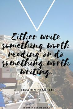 Want to change the world? Be a writer. // Quotes, inspiration, and how to change the world with your blog or writing.