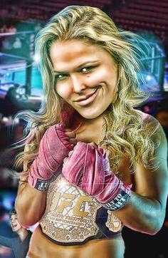 Fight Like A Girl Entourage Movie Turtle Rhonda Roussey UFC T Shirt