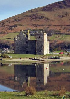 Lochranza Castle - Isle of Arran, Ayrshire UK