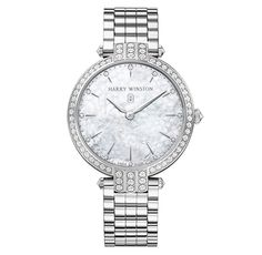 Premier Ladies 39mm in white gold