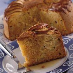 Νηστίσιμο κέικ με μήλα Greek Sweets, Greek Desserts, Greek Recipes, Meals Without Meat, Greek Pastries, Cooking Cake, Healthy Food Options, Brownie Cake, Vegan Cake