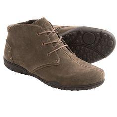 Taos Footwear Stellar Ankle Boots - Suede (For Women) in Brown Suede