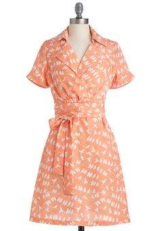 Sometimes when I'm fantasizing about being a 1950's housewife, this is the dress I imagine myself wearing while I cook dinner for my husband who has been hard at work all day. With a cute apron over it of course. Ha!