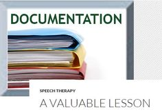 Professional Development Corner: Documentation – A Valuable Lesson - pinned by @PediaStaff – Please Visit  ht.ly/63sNt for all our ped therapy, school & special ed pins