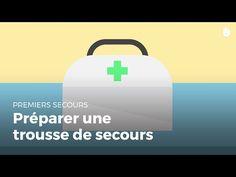 Comment préparer sa trousse de secours. Croix Rouge/Croissant Rouge - YouTube