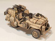 SAS 'Desert Rat' Jeep 1/35