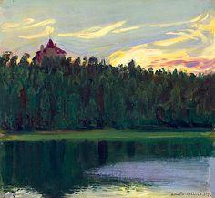 Gallen-Kallela, Akseli Järvimaisema 1911