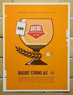 Bailout Strong Ale Front