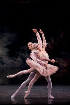 Natasha Oughtred and Jamie Bond in The Nutcracker