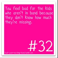 All the time it makes me so sad. Especially when the non band kids think their so cool. It also annoys me. Band Mom, Band Nerd, Love Band, Marching Band Problems, Marching Band Memes, Music Jokes, Music Humor, Clarinet, Trombone