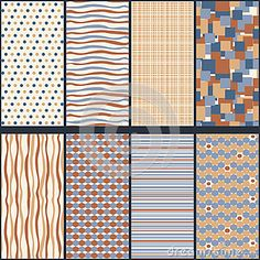 Vector Set Of Seamless Geometric Patterns. - Download From Over 30 Million High Quality Stock Photos, Images, Vectors. Sign up for FREE today. Image: 44467102