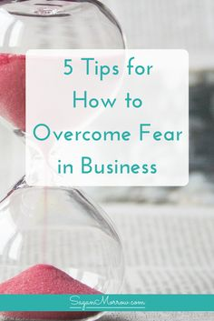 Stop letting fear hold you back in business! In this article, get 5 tips for HOW to overcome fear in business... learn what you need to know about overcoming fear in business so you can finally quit your day job and take your small business to the next level!