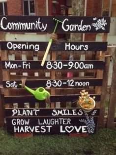 Community garden invitation  - Blue House International School ≈≈
