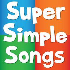 Super Simple Songs - youtube channel (twinkle twinkle, BINGO, Old MacDonald etc.)