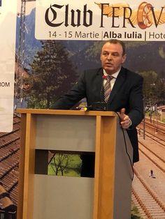 Miercuri, 14 Martie 2018 Ministrul Transporturilor, Lucian Șova,a participat la Conferințele Club Feroviar de la Alba Iulia Martie, Club, Style, Swag, Outfits