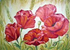 Tulipanes De La Pintura Al óleo - Descarga De Over 46 Millones de fotos de alta…
