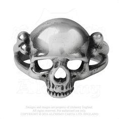 Alchemy of England - R208 - Memoria Mortalis Ring, $25.20 (http://www.alchemyofengland.com/r208-memoria-mortalis-ring/)