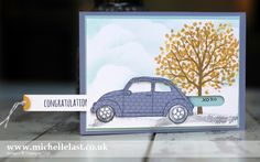 Beautiful Ride using Stampin' Up! products