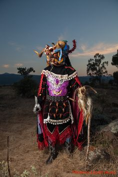 All things Mexico.artisanos-de-michoacan: An other look at Michoacan…los Diablos de Tocuaro, Michoacan, Mexico (Ceremonial masks and costumes by Felipe Horta) Photography© Florence Leyret Jeune)