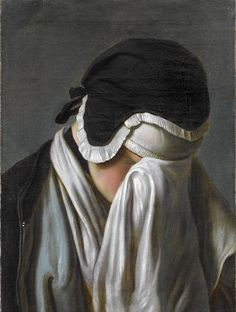 Title:Portrait of a Young Girl Hiding Her Eyes. Artist: Pietro Rotari