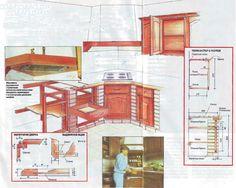 кухонные шкафы из кирпича - Пошук Google