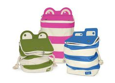 Monster Storage Bags by P'kolino Are Created to Be Fun and Functional #baby #newparent trendhunter.com