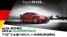 "7':32"" Record @ Nurburgring Alfa Romeo Giulia Quadrifoglio"