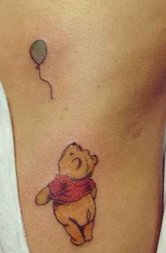 What does winnie the pooh tattoo mean? We have winnie the pooh tattoo ideas, designs, symbolism and we explain the meaning behind the tattoo. Small Quote Tattoos, Small Tattoos With Meaning, Small Wrist Tattoos, Tattoos For Women Small, Tattoo Quotes, Tattoo Small, Pretty Tattoos, Unique Tattoos, Beautiful Tattoos