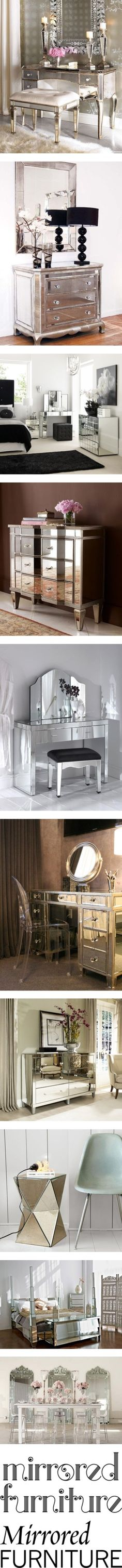 """Mirrored Furniture"" by polyvore-editorial on Polyvore"