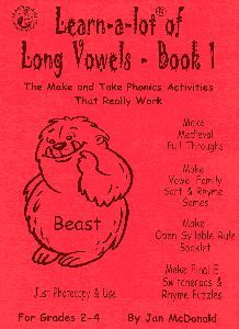Language Arts / Reading -  The Make and Take Phonics Activities book