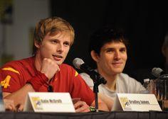 Bradley and Colin at ComicCon
