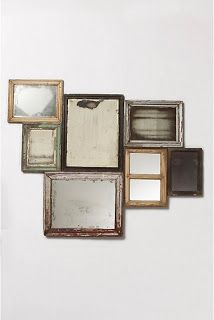 Craftaholics Anonymous® | RTW: Distressed Mirrors TUTORIAL