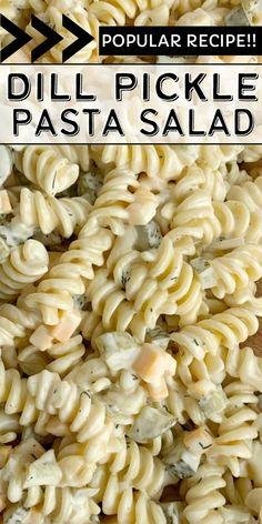 Best Salad Recipes, Side Recipes, Pasta Recipes, Appetizer Recipes, Dinner Recipes, Healthy Recipes, New Recipes, Appetizers, Cooking Recipes
