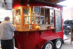 Image result for horse trailer food truck