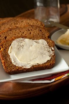 The BEST butternut squash or pumpkin bread ever. Cut sugar down to 3/4-2/3 amount to make less of a dessert.