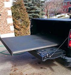 Truck Bed Slide Plans Roller Detail Mobile Living