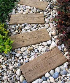 idea for my gravel garden transformation this summer