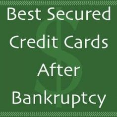 Secured Credit Cards After Bankruptcy A secured credit card is a great option after bankruptcy because it can help rebuild credit.A secured credit card is a great option after bankruptcy because it can help rebuild credit. Miles Credit Card, Rewards Credit Cards, Best Credit Cards, Credit Score, Credit Check, Best Credit Card Offers, Small Business Credit Cards, American Express Credit Card, Rebuilding Credit