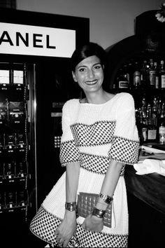 Giovanna Battaglia At Chanel Tribeca Film Festival Artists Dinner2013 - Journal - I Want To Be A Battaglia