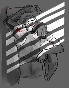 inediblesushi:  prompt fromdevbasaa and an anon who wanted bucky pinning steve to the wall