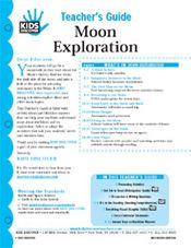 FREE, 12-Page Downloadable Lesson Plan for Kids Discover Moon Exploration!