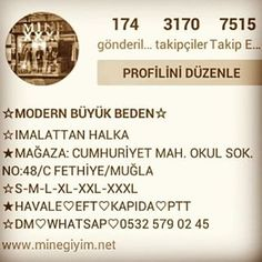 ☆MODERN BÜYÜK BEDEN☆ @minegiyim_x.x.x.l Instagram photos   Websta (Webstagram)