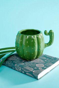 Paperchase Ceramic Cactus Mug Multi 220x330 Fun Cactus Gifts