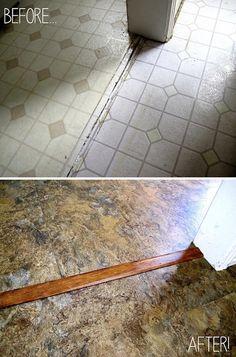 1000 images about floors on pinterest vinyl tiles linoleum flooring and painting concrete floors. Black Bedroom Furniture Sets. Home Design Ideas