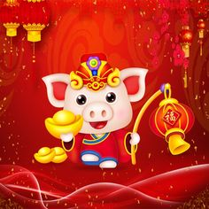 Happy Chinese New Year 2019 - Year of The Pig Happy New Year Hd, Happy New Years Eve, Happy New Year Images, Happy New Year Quotes, Happy Chinese New Year, Chinese New Year Wallpaper, Happy New Year Wallpaper, Chinese New Year Decorations, New Years Decorations