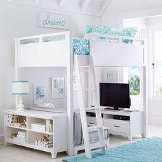 Hampton Loft Bookcase