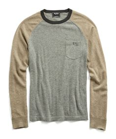 Cashmere T-Shirt Colorblock Sweater