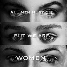 Cersei Lannister. Daenerys Targaryen. Sansa Stark. Women. Game of Thrones. Quotes.