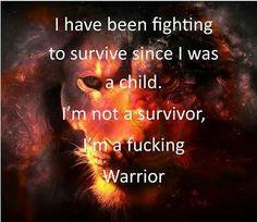 A warrior!